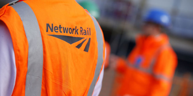 File photo dated 09/10/2013 of workers wearing Network Rail vests. A second rail workers union is holding a strike ballot after rejecting a pay offer from Network Rail.