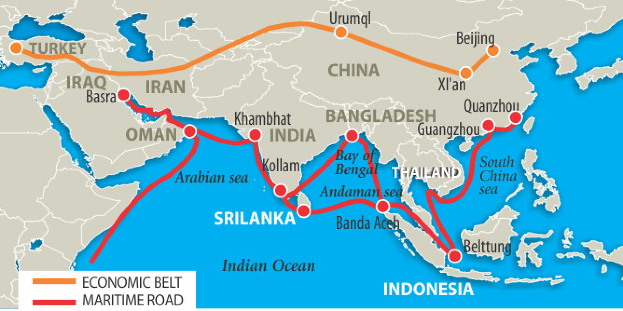 What Are Chinese Submarines Doing in the Indian Ocean HuffPost