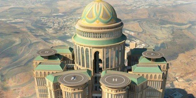 Construit à la Mecque, le plus grand hôtel au monde s'inspire du Maroc