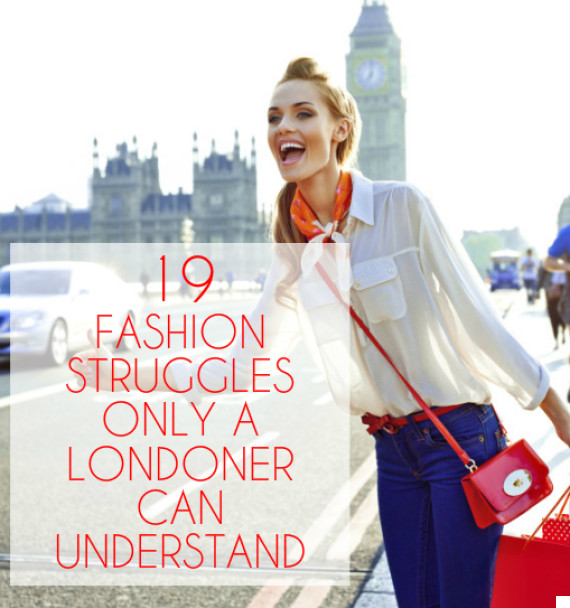 london fashion struggles