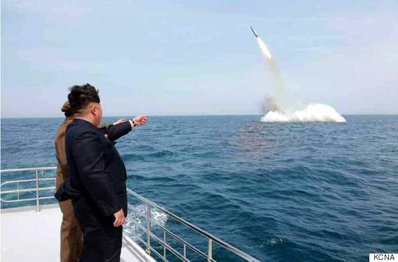 north korea kim jong un photoshopped missile pic