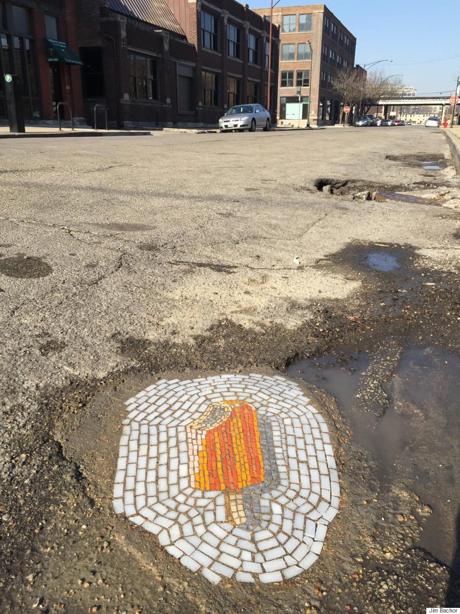 creamsicle pothole