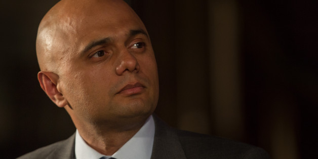 Too extreme: Business Secretary Sajid Javid speaks at the Citizens UK event at Westminster Central Hall on May 4, 2015 in London