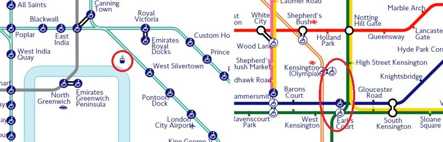 new tube map