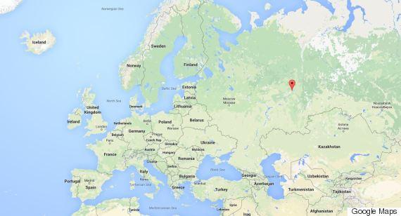 location of perm russia