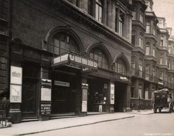 down street station londres