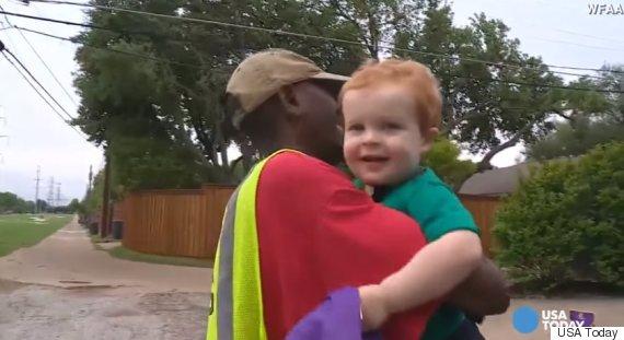 cute kid garbabe