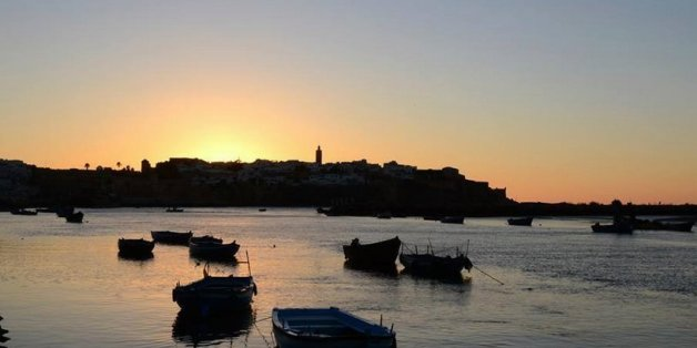 Rabat a comme un petit air de Venise...