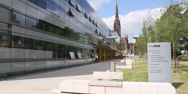 The Hub Building, Coventry University.© Image & Design Ian Halsey MMXIII