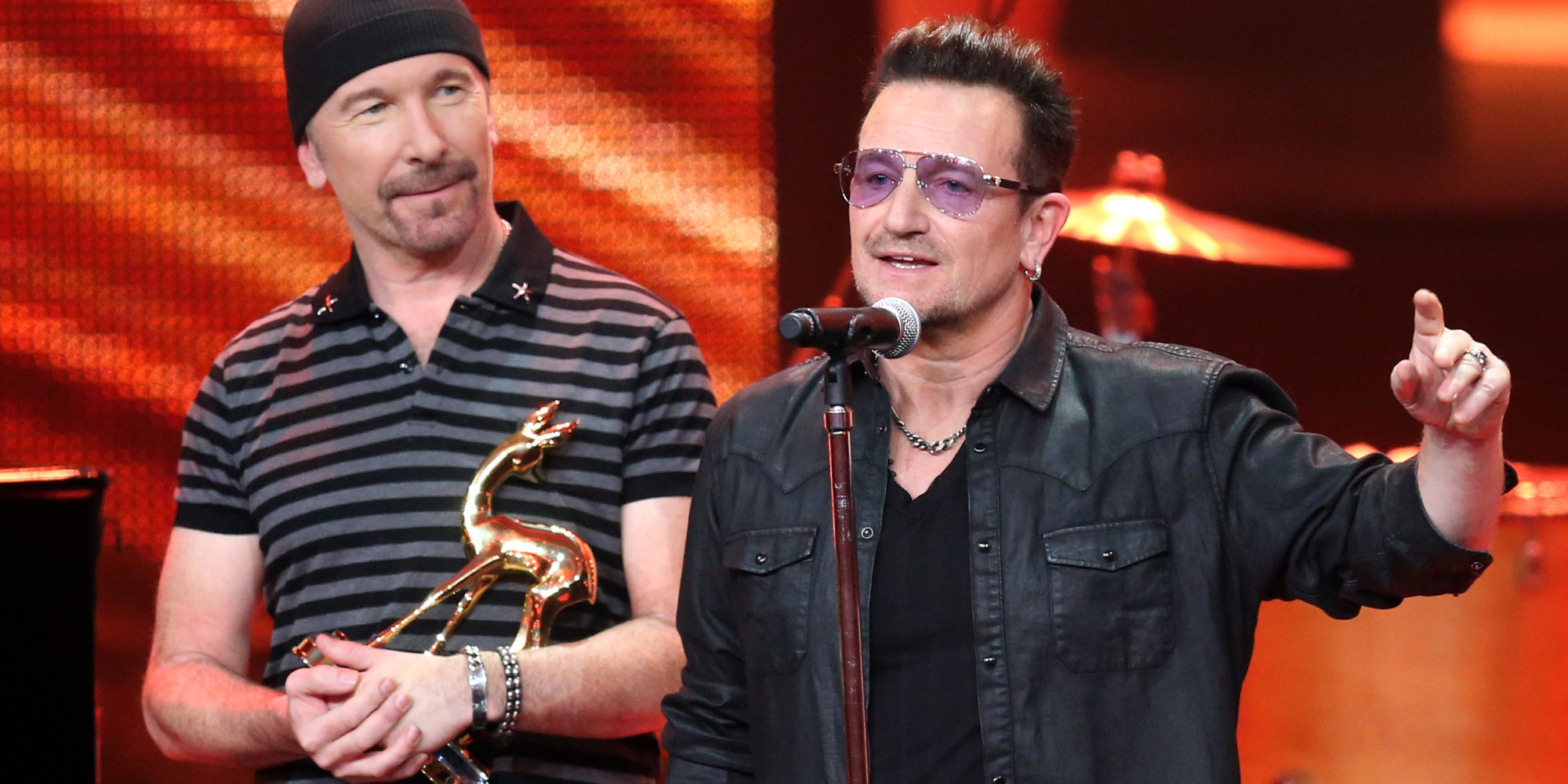 U2 supporting gay marriage