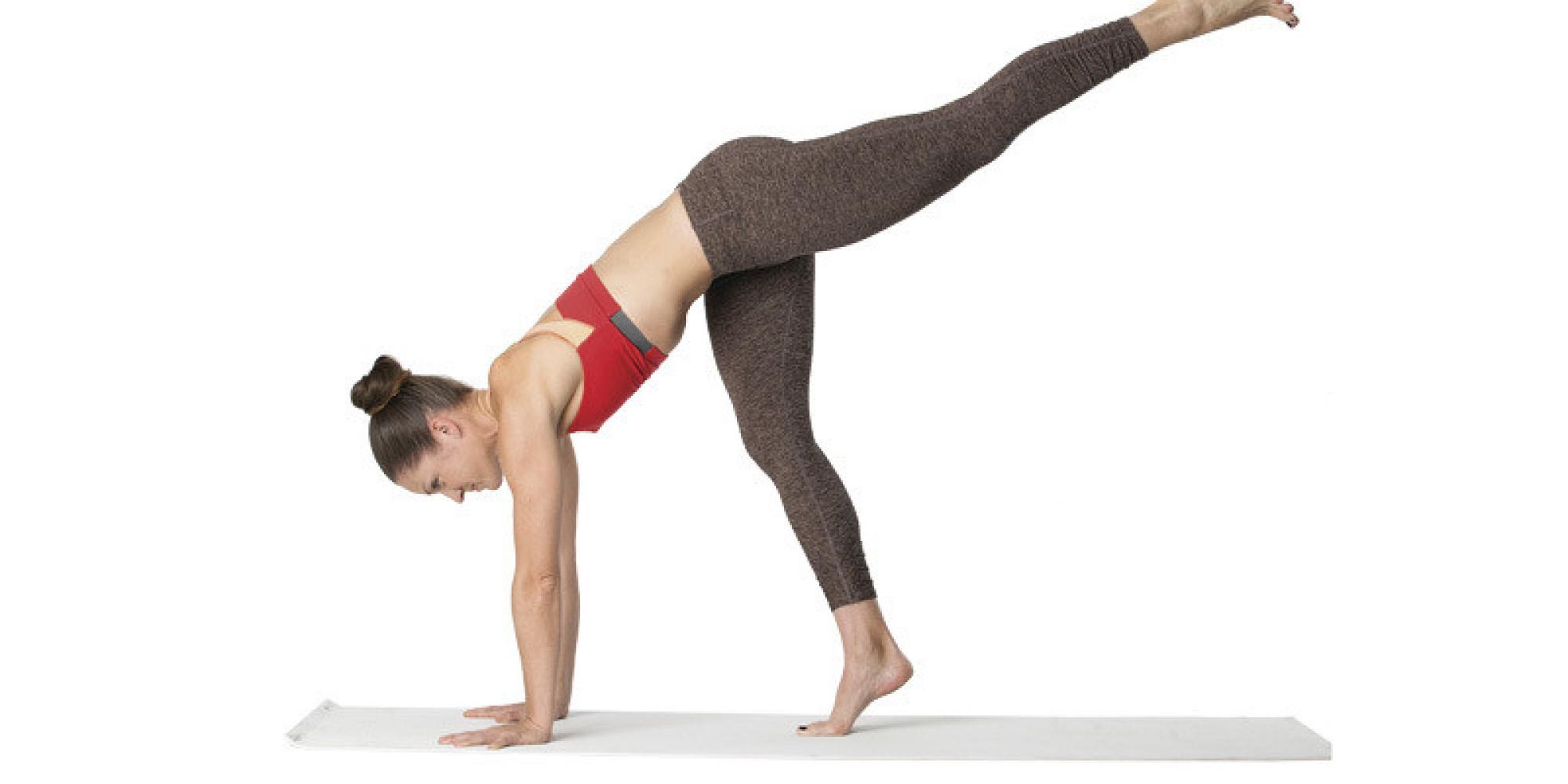 Yoga Challenge Pose Handstand