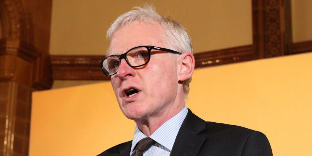 Care Minister Norman Lamb speaks during a press conference in Westminster, London, where Liberal Democrat party leader Nick Clegg accused the Tories of trying to pull the wool over voters' eyes by refusing to spell out how they will fund the NHS.