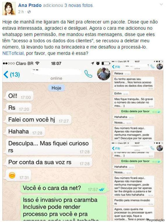 assédio whatsapp