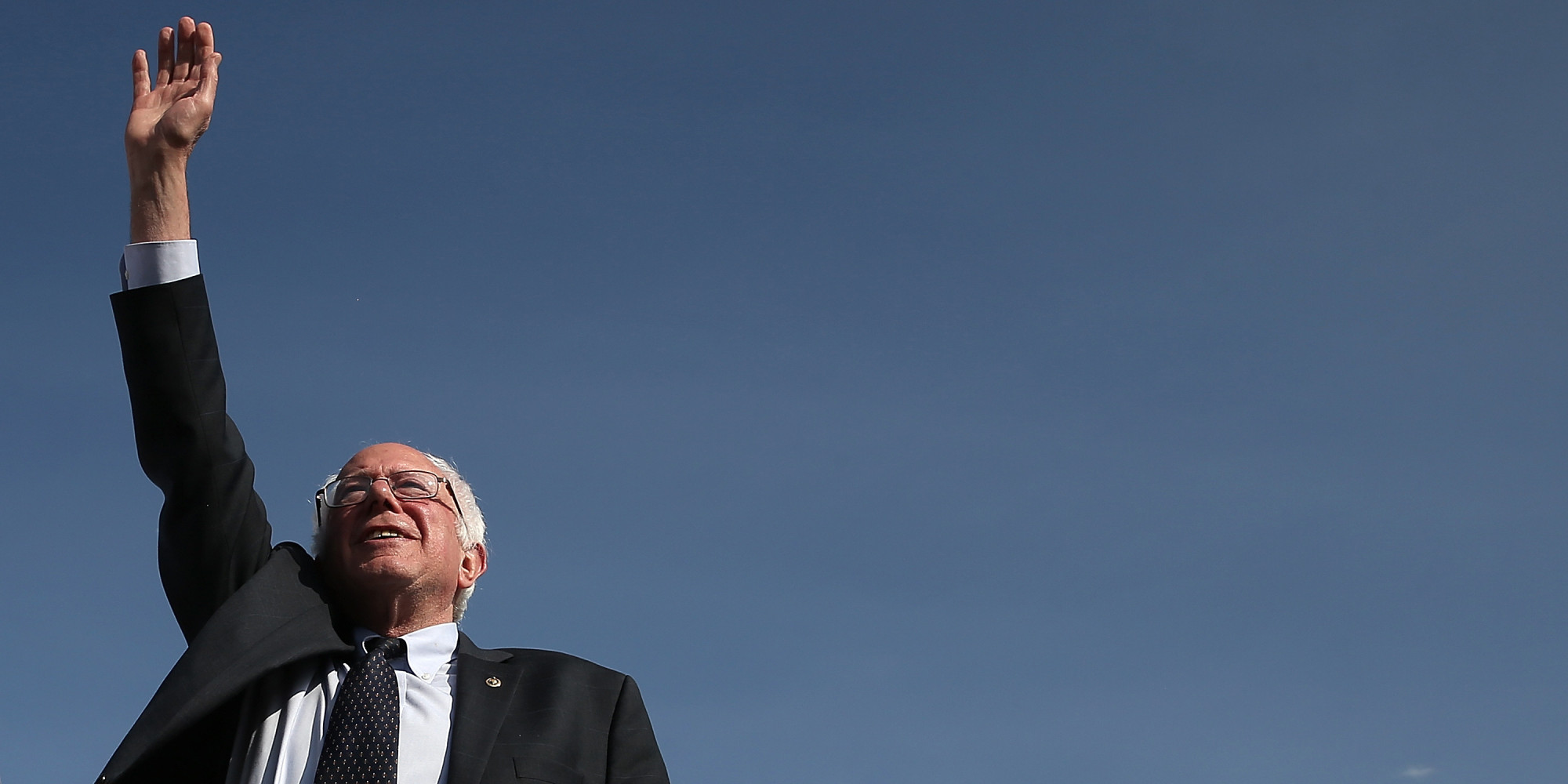 bernie sanders for president wallpaper. bernie sanders omits key democratic priorities in first presidential campaign speech | huffpost for president wallpaper