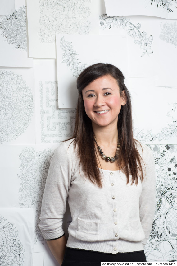 Whats Working How Johanna Basford Made Colouring Books For Adults