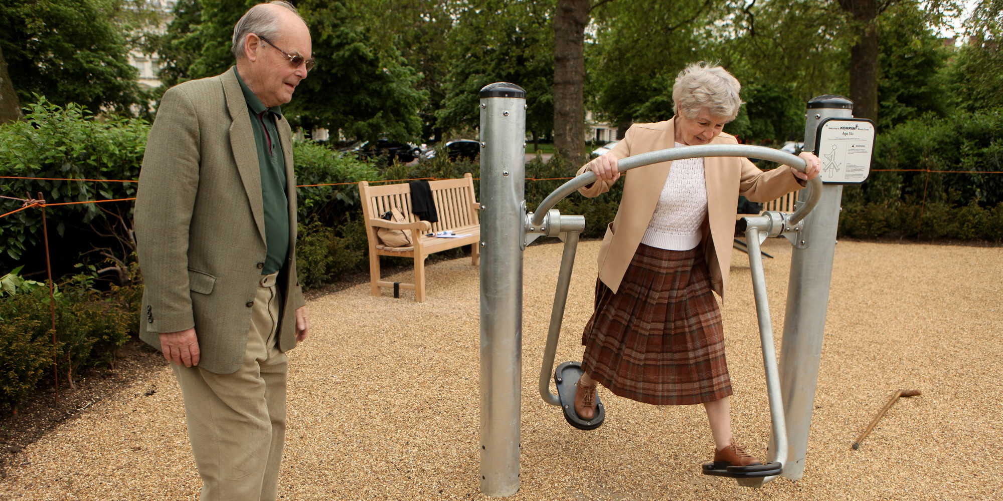 playgrounds for seniors improve fitness, reduce isolation | huffpost
