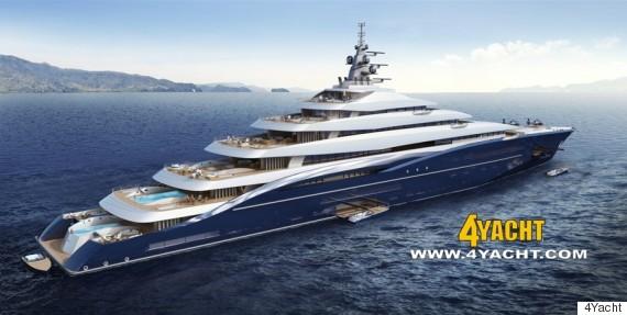 le plus gros yacht du monde en vente pour 700 millions d. Black Bedroom Furniture Sets. Home Design Ideas