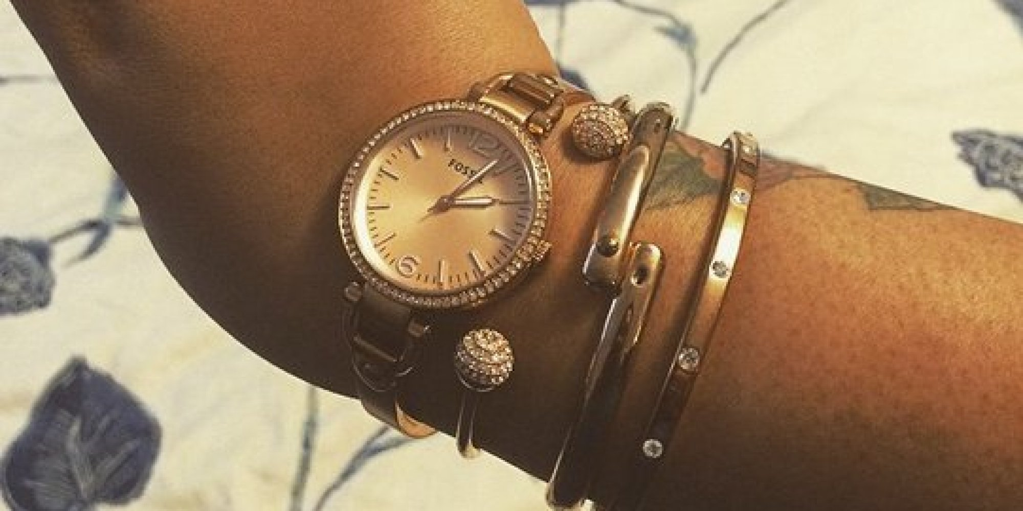 Proof That Rose Gold Jewelry Looks Great With Almost Every