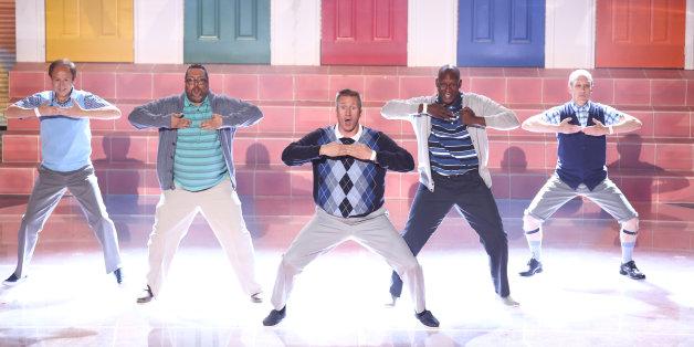 Old Men Grooving on 'Britain's Got Talent'