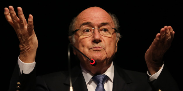 Fifa president Sepp Blatter was re-elected for a fourth term on Friday