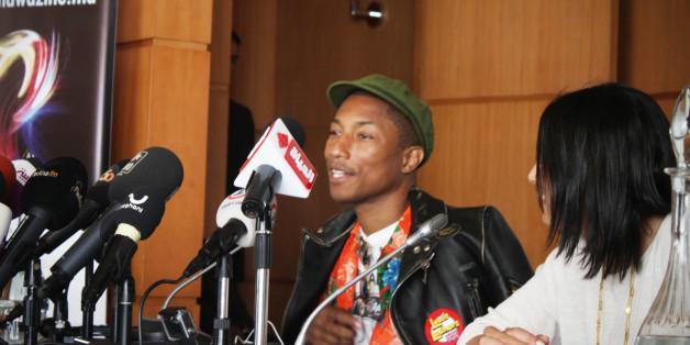 "Mawazine: Pharrell Williams va rendre Rabat ""happy"" ce soir"