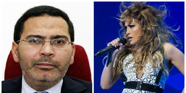 """Les images très """"hot"""" du concert de J-Lo jugées """"inadmissibles"""" par Mustapha Kalfi"""