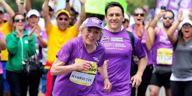 A 92 ans, elle boucle un marathon de 42 kilomètres