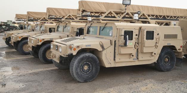 Darum ist Isis so stark: Terroristen eroberten 2300 US-Panzerwagen