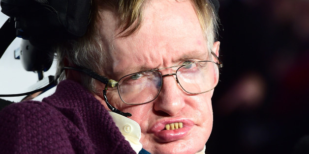 Stephen Hawking attending the UK Premiere of The Theory of Everything at the Odeon Leicester Square, London.