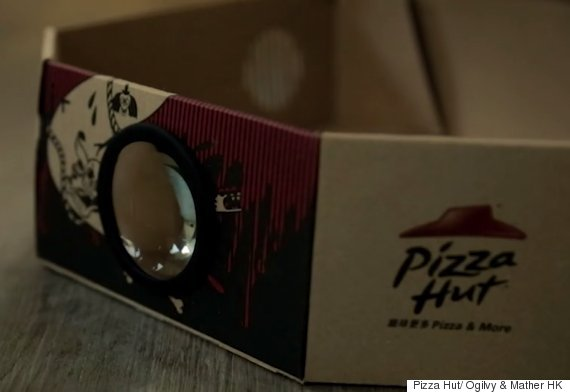 pizzahut movie boxes