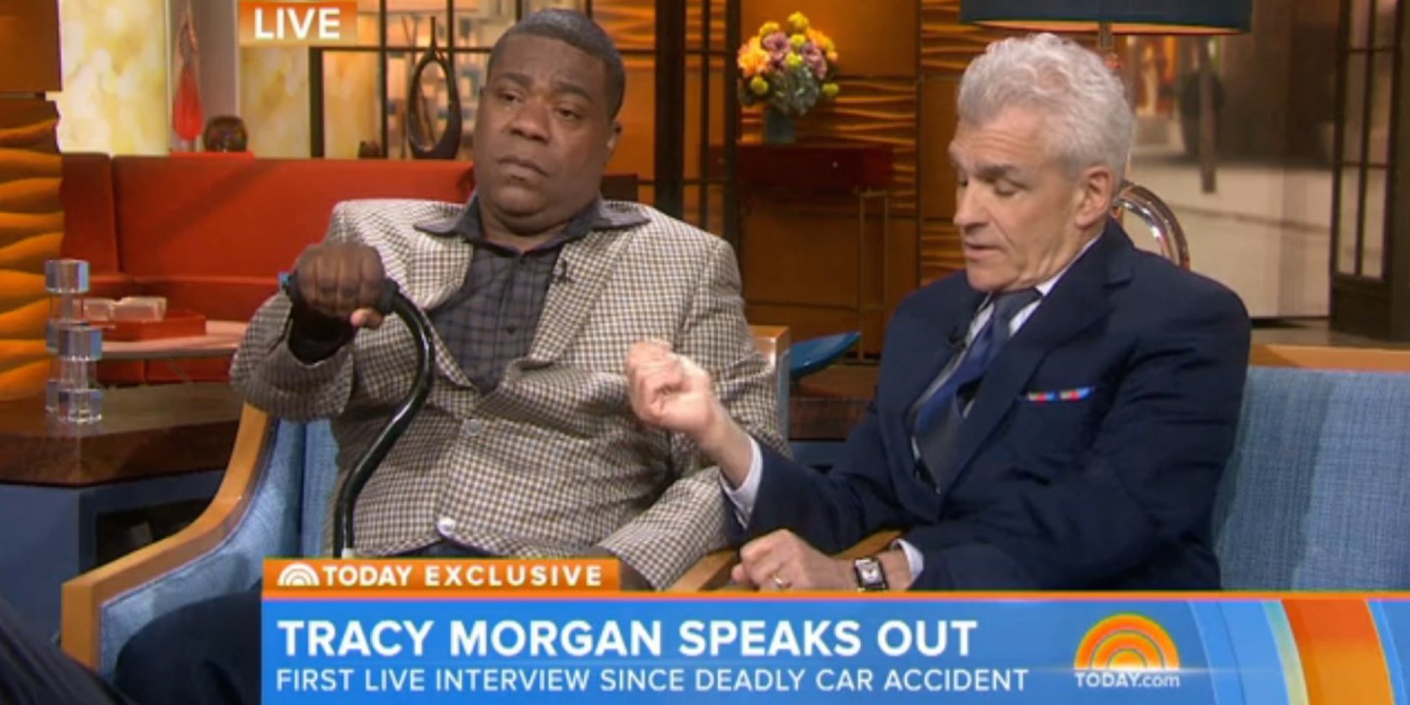 Where Was Tracy Morgan When He Had His Car Accident