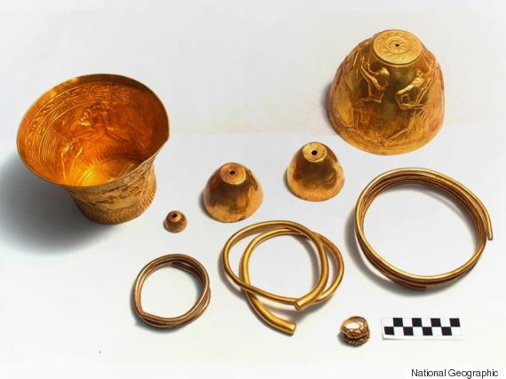 scythian gold bongs