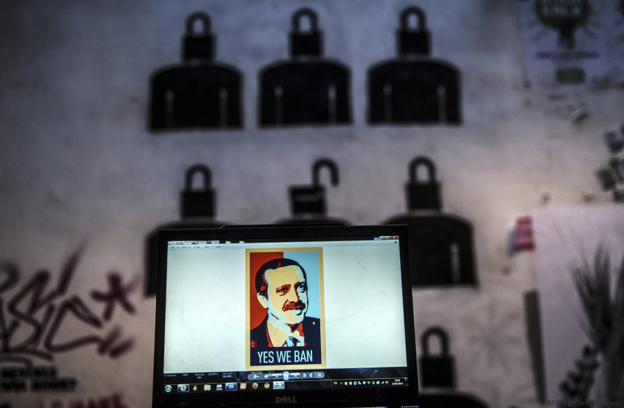 erdogan graffitti