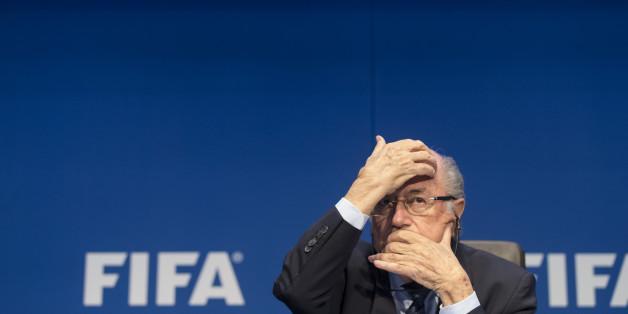Joseph Blatter auf dem Fifa-Kongress