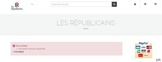 erreur boutique republicains
