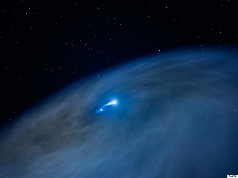 nasa hubble telescope observes strange behaviour