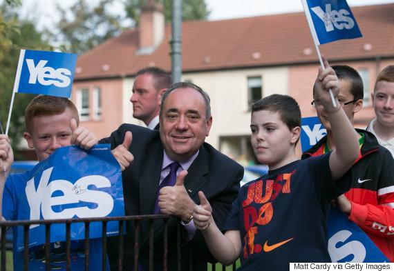 alex salmond referendum yes
