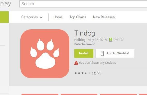 tindog tinder chiens
