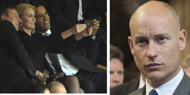 Stephen Kinnock, husband of Helle Thorning-Schmidt, has hit out at Barack Obama