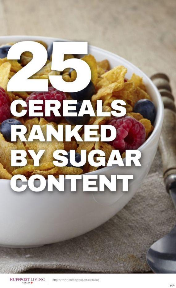 sugar in cereals