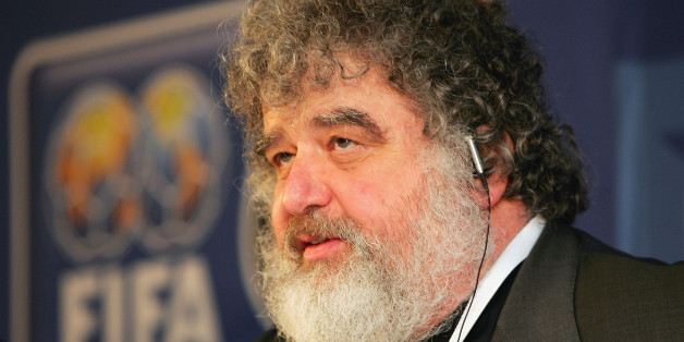 FRANKFURT, GERMANY - NOVEMBER 1:  Chuck Blazer, a Member of FIFA World Cup Organizing Committee, attends a press conference for The Confederations Cup Germany 2005 draw at The Alte Oper, on November 1, 2004 in Frankfurt, Germany.  (Photo by Stuart Franklin/Getty Images)