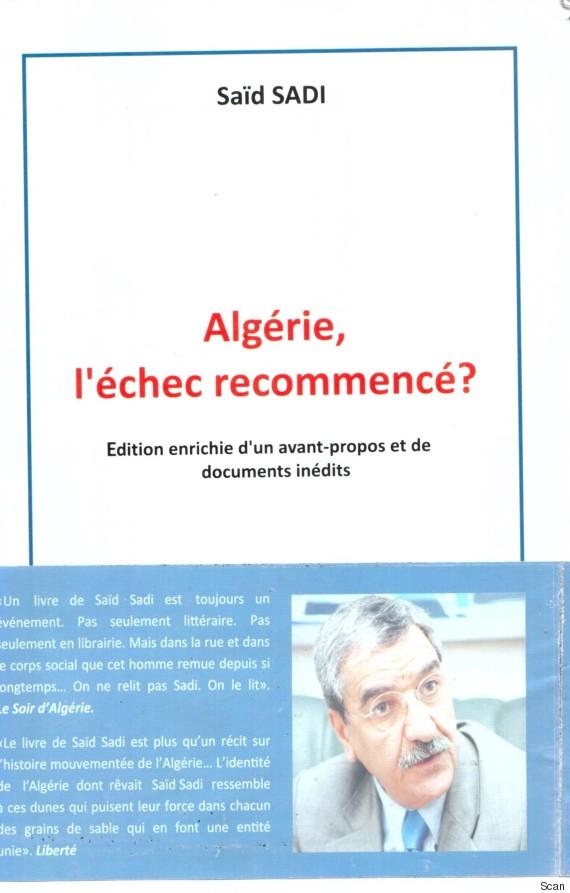 algérie échec recommencé