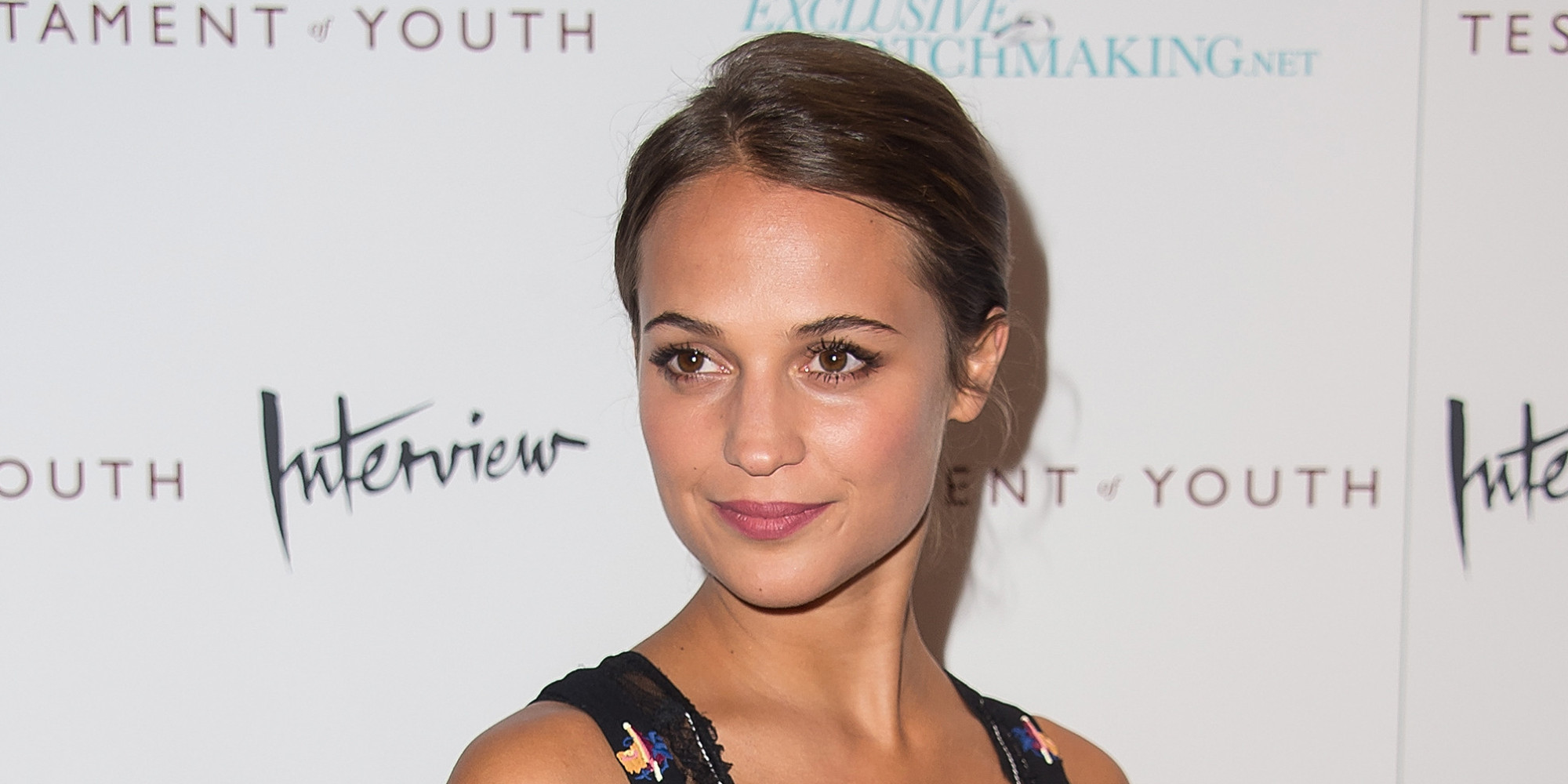 Alicia Vikander Robot Movie Meet Alicia Vikander This Year S Breakout Star Huffpost