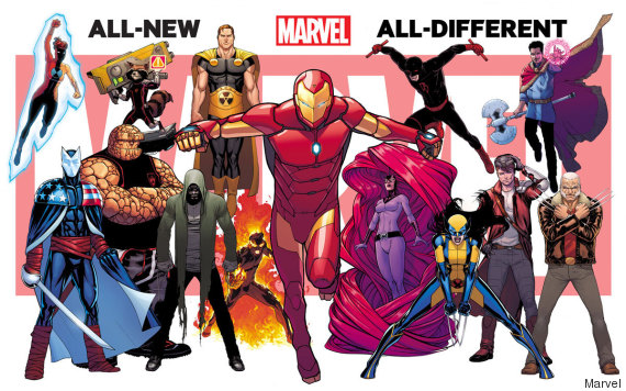 Marvel Malvorlagen Marvel Superhero The Marvel Super: PHOTO. Marvel Dévoile Ses Nouveaux Super-héros BD Dans La
