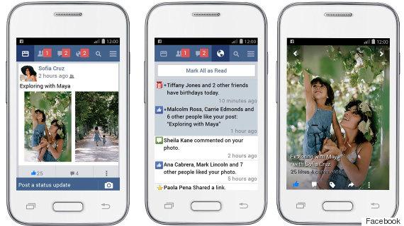 facebook lite features