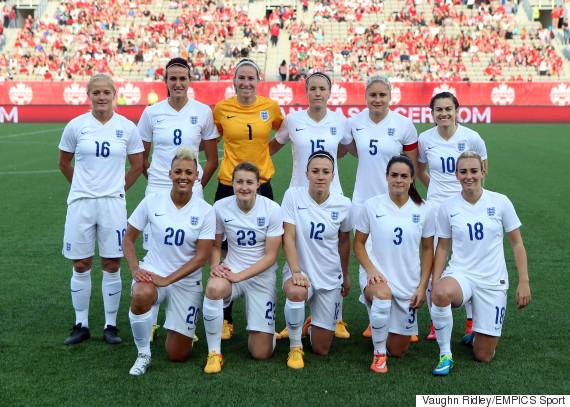 england women football team