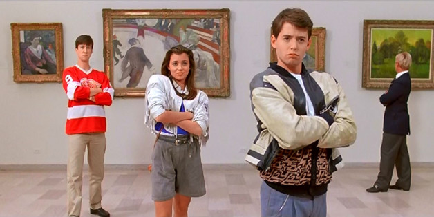 Bueller, Cameron And Sloane at the Art Institute in Chicago