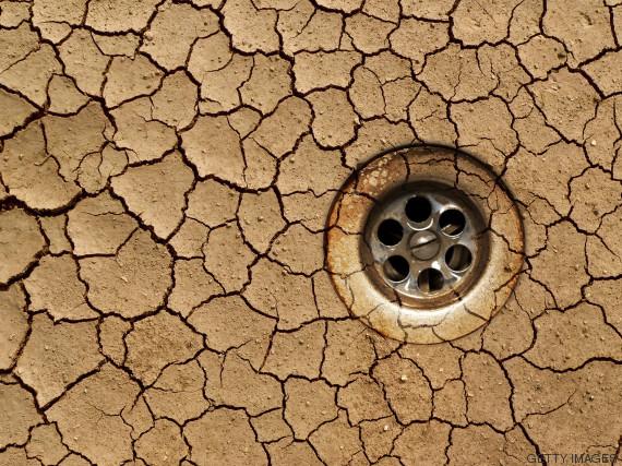 sequía bañera