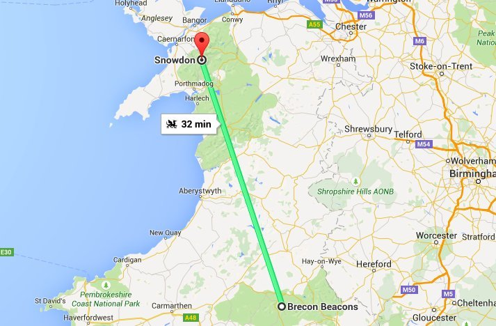 Google Maps Now Offers Dragon And Loch Ness Monster As Transport Options