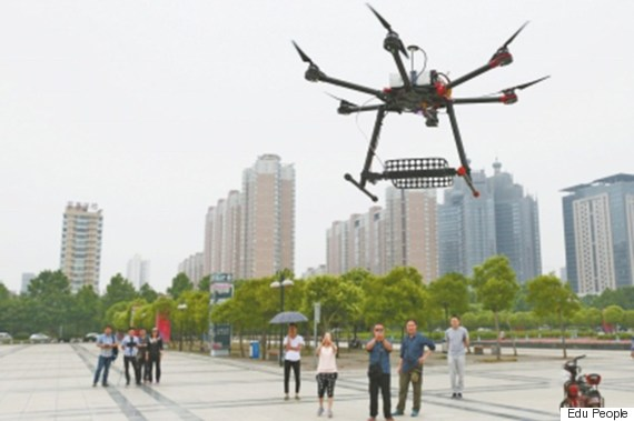 chinas anticheating drones